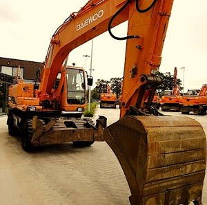 Daewoo Excavator Parts