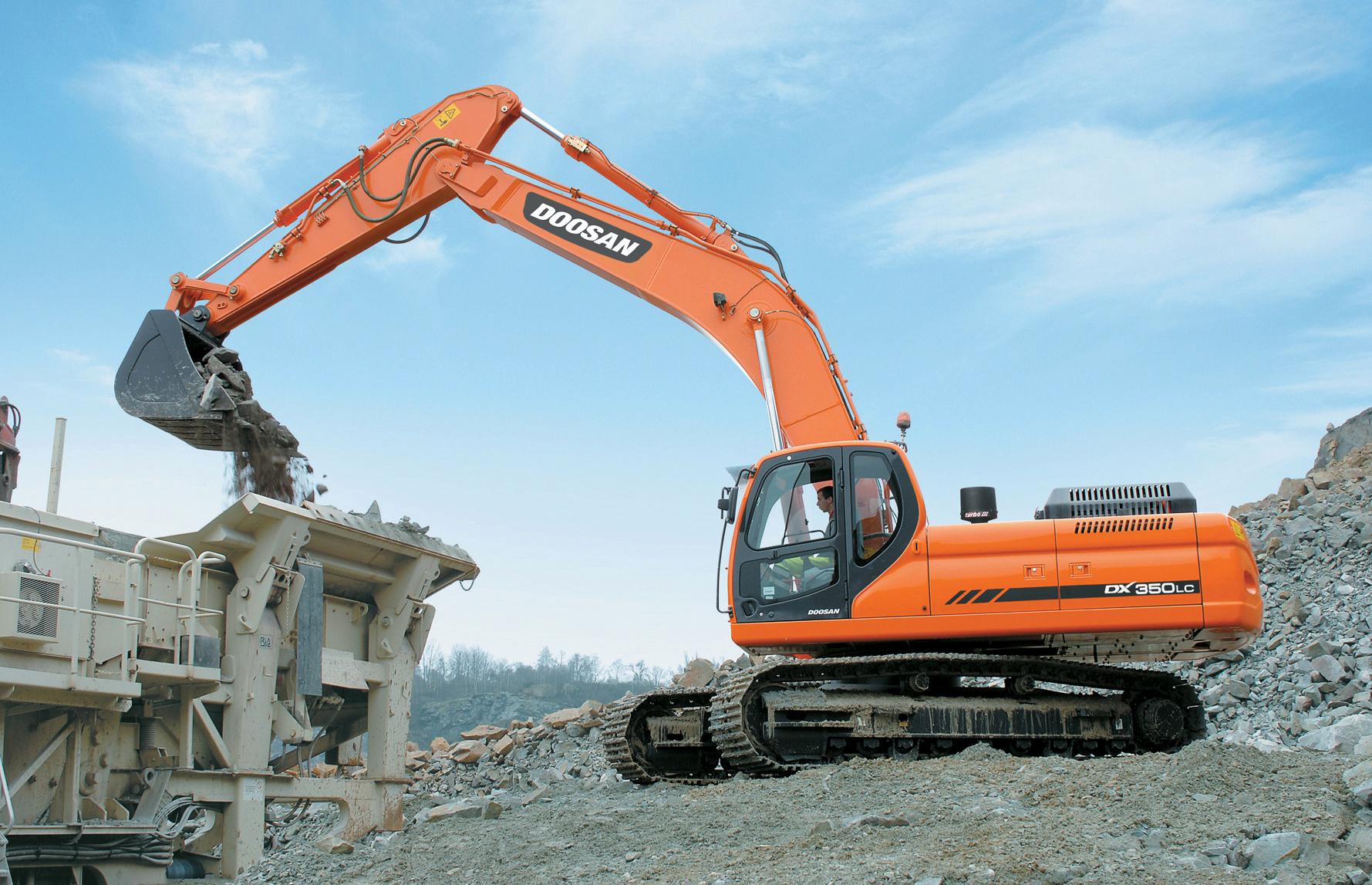 Doosan Excavator Parts - CK Heavy Equipt Parts