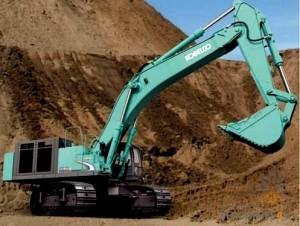 kobelco excavator parts